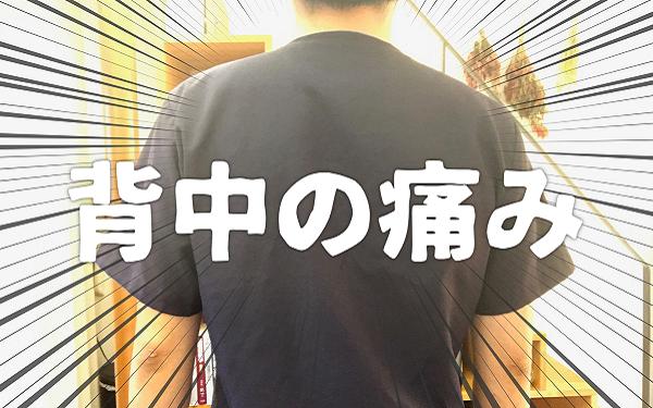 背中の痛み|岡崎市