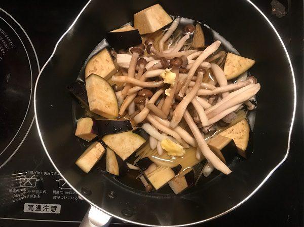 パスタ調理過程3|岡崎市