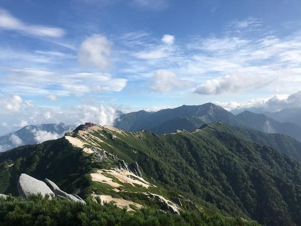 燕岳山頂3