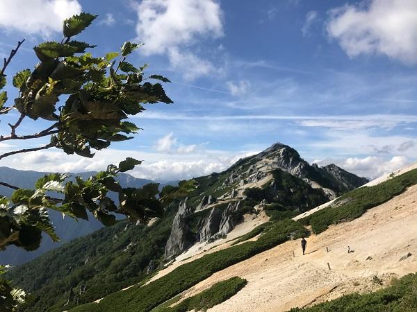 燕岳までの道のり1