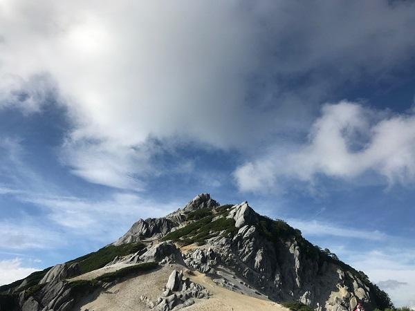 燕岳までの道のり3