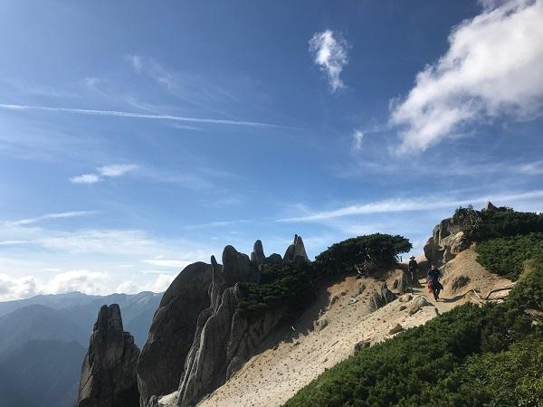 燕岳までの道のり2