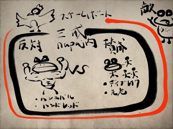 ナパージュの構図