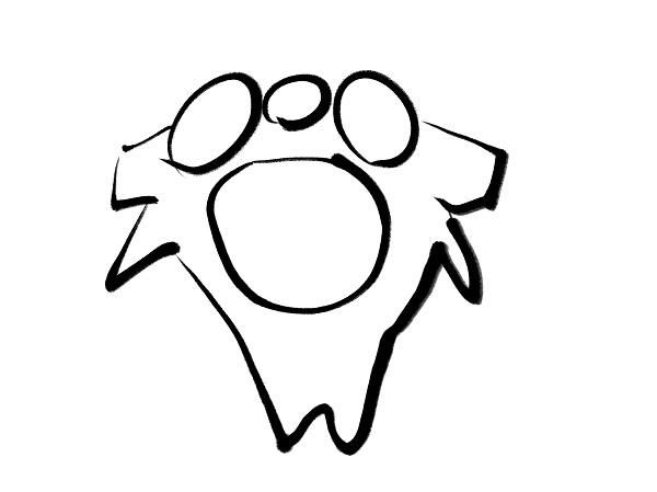 2頚椎(上から)