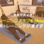 碧南市民必読!トレーニングスタジオShinyの本来の体の動きを引き出す体幹トレーニングが凄すぎる!