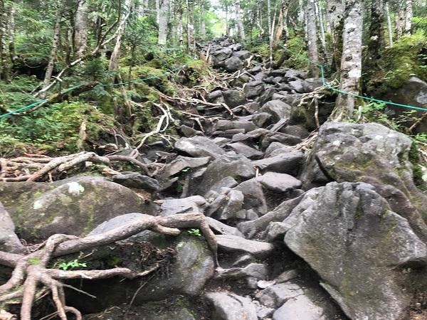 急坂|蓼科山