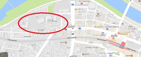 googlemap|岡崎市