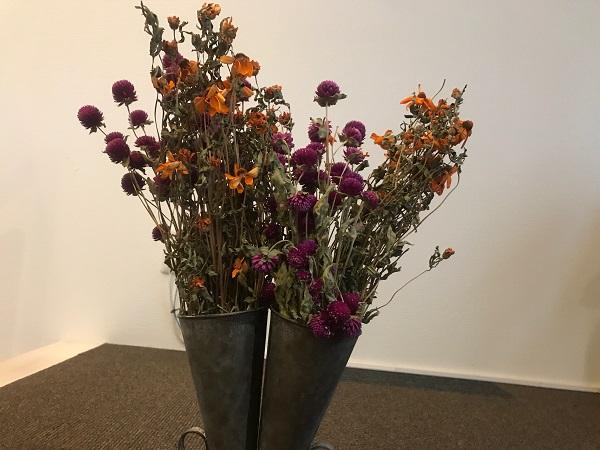 森の日曜日のお花