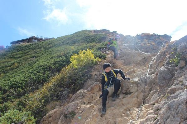 赤岳登山1