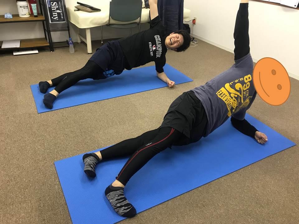 体幹トレーニング2