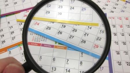 予約・休業日カレンダー
