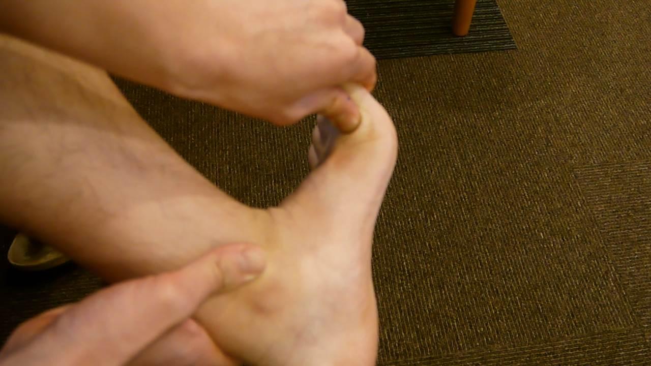捻挫の検査4
