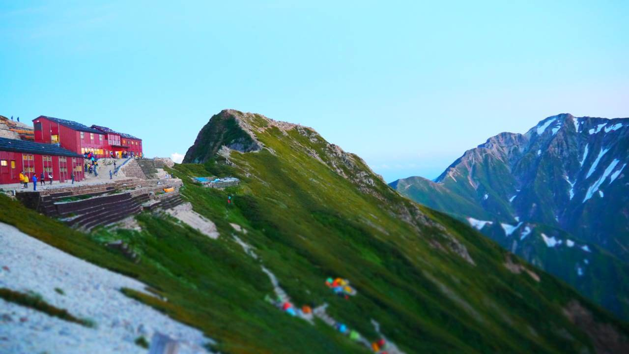 唐松岳山頂山荘