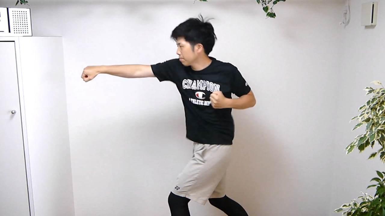 背中と腰の連動性改善1