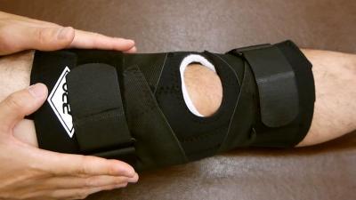 靭帯補助膝サポーター