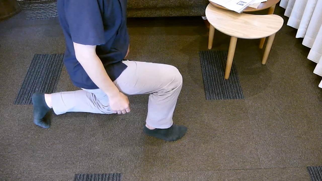 足首の検査