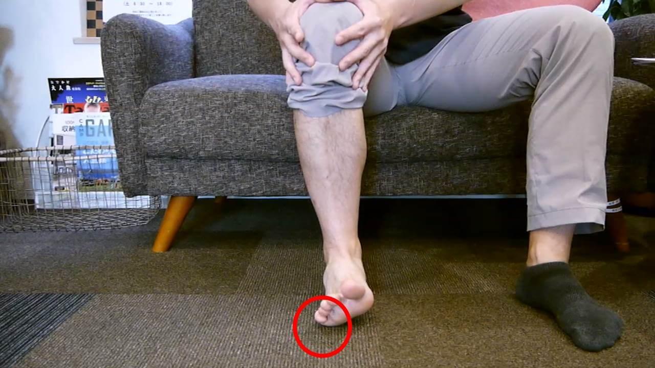 前足部の検査