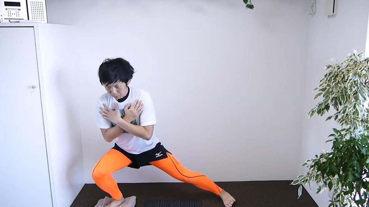 足首の筋力強化連動性改善2