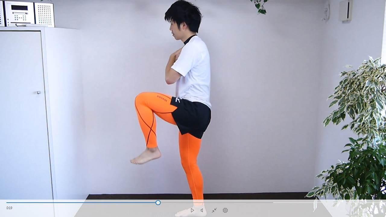 下肢全体の筋力強化連動性改善2