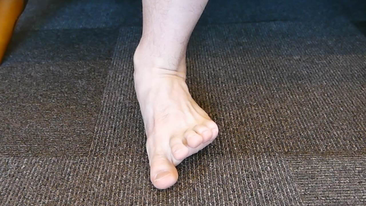 足部の動き改善体操