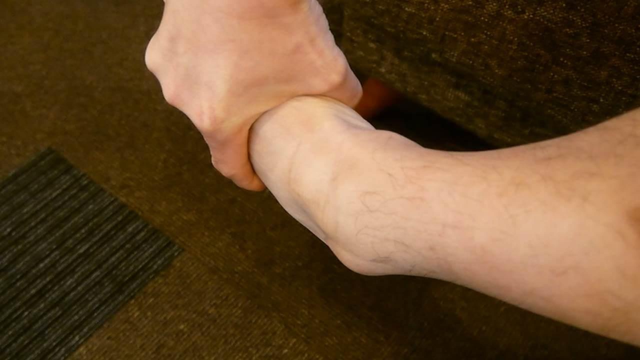 捻挫の検査2