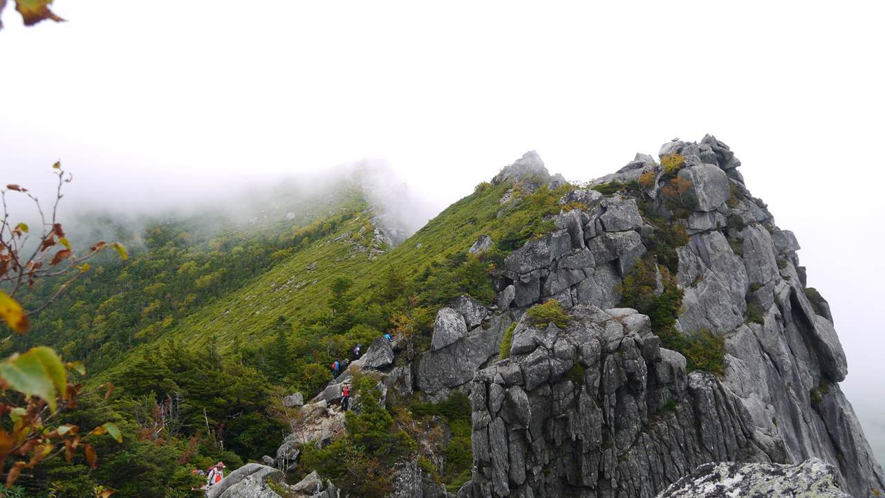 金峰山登山