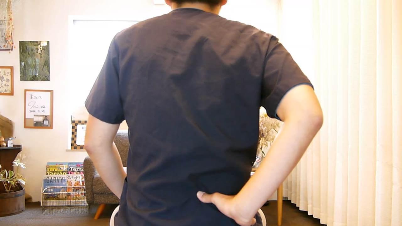 椎間関節性腰痛検査法2