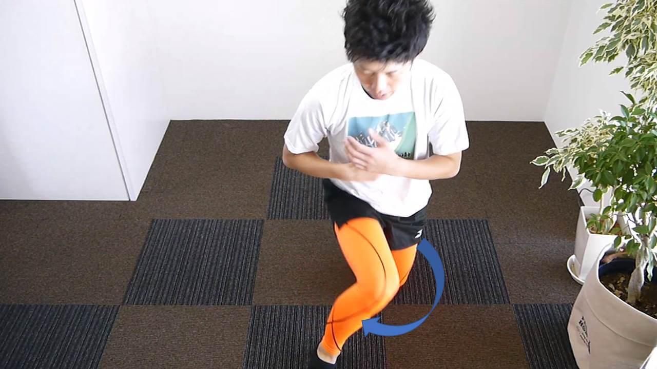 膝足首柔軟エクササイズ上級編