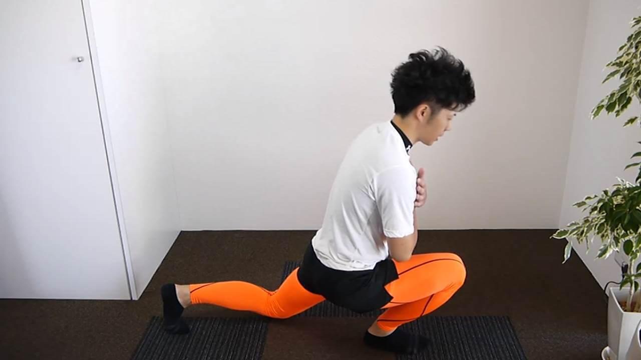 膝足柔軟エクササイズ初級編