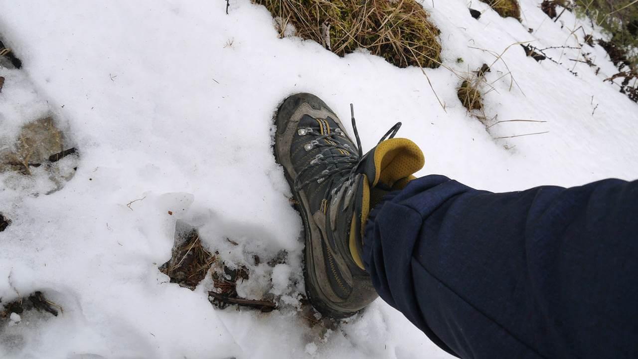 夏用の登山靴