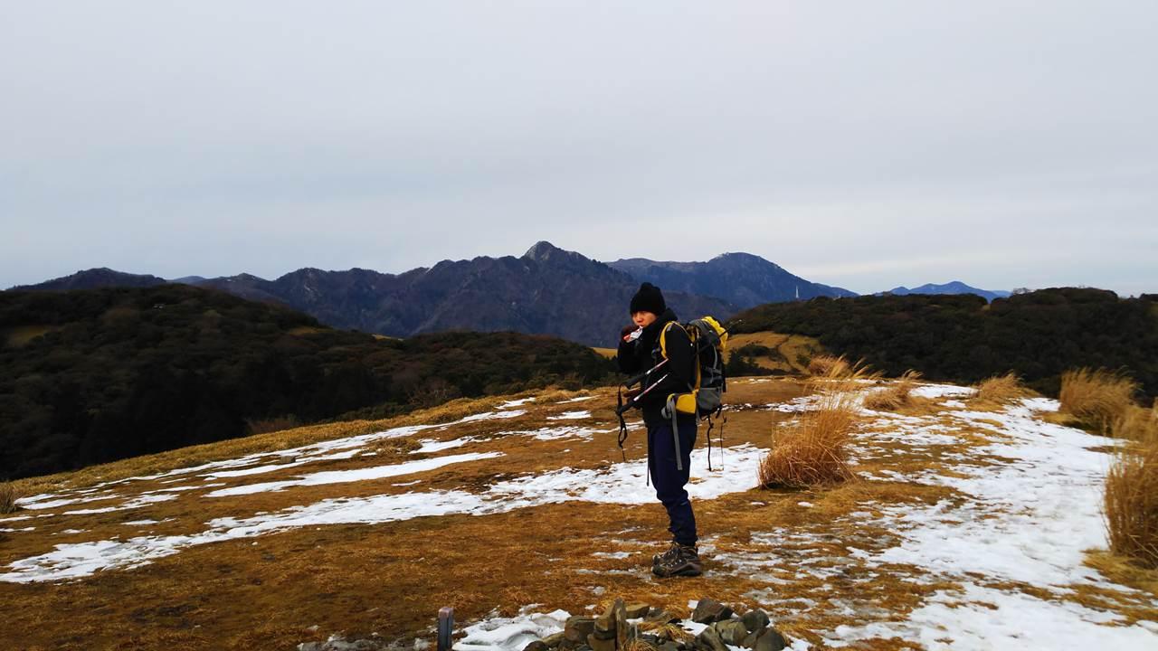 入道ヶ岳山頂